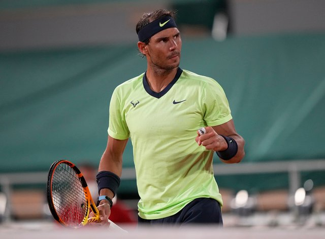 Rafael Nadal extended his perfect record against Richard Gasquet