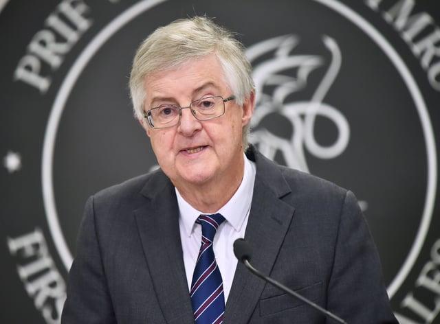Welsh First Minister Mark Drakeford