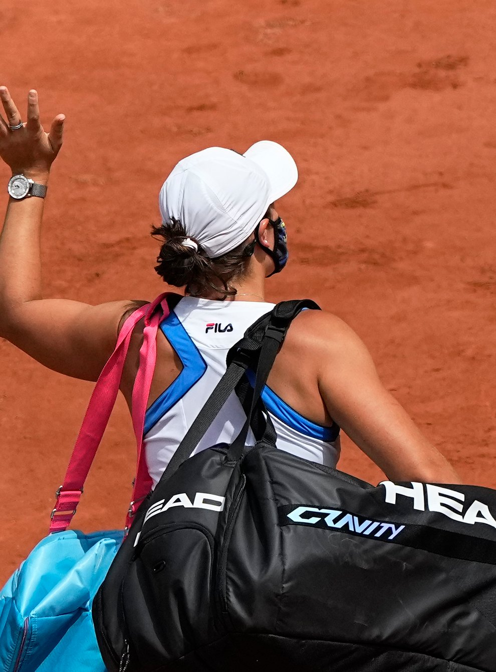 <p>Ashleigh Barty waved a premature goodbye to Roland Garros</p>