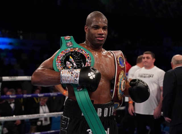 Daniel Dubois is back in action this weekend (Tess Derry/PA)