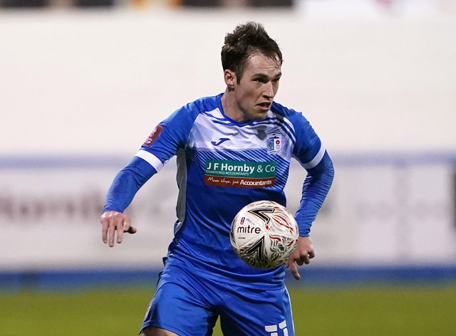 Josh Kay joined Barrow after leaving Chesterfield in 2018