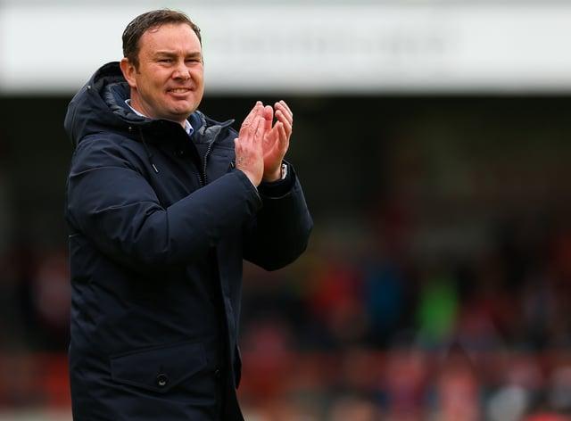 Derek Adams has been named as Bradford's new boss