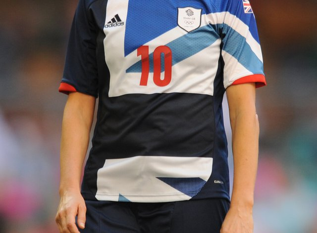 Kelly Smith during the London 2012 Olympics