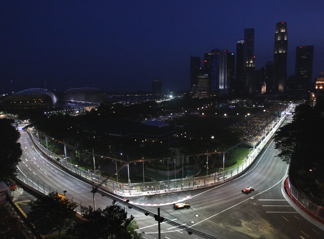 The Singapore Grand Prix has been cancelled