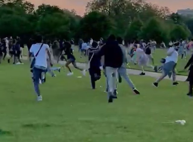 Disorder in Hyde Park