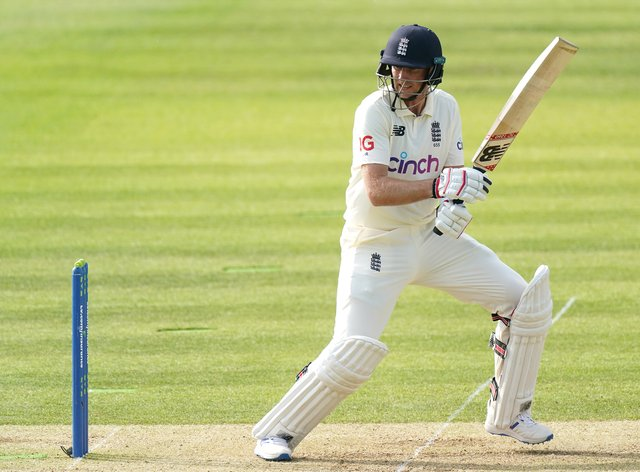 Joe Root, pictured, has struggled against New Zealand's Colin de Grandhomme (Adam Davy/PA)