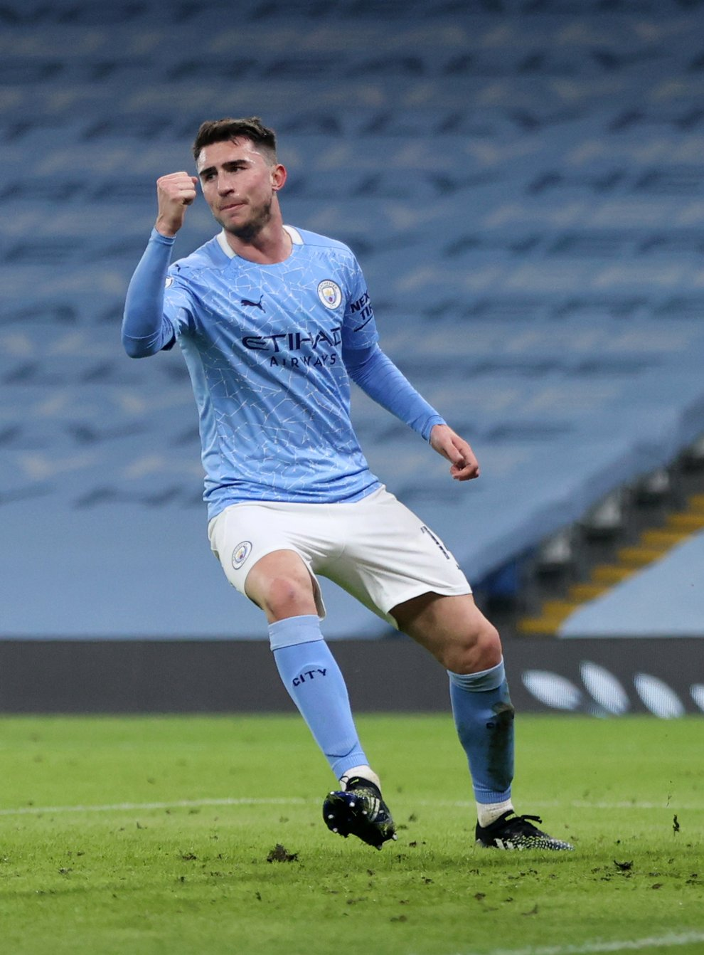 Manchester City defender Aymeric Laporte made his debut for Spain on Friday night.