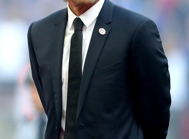 Antonio Conte on the touchline