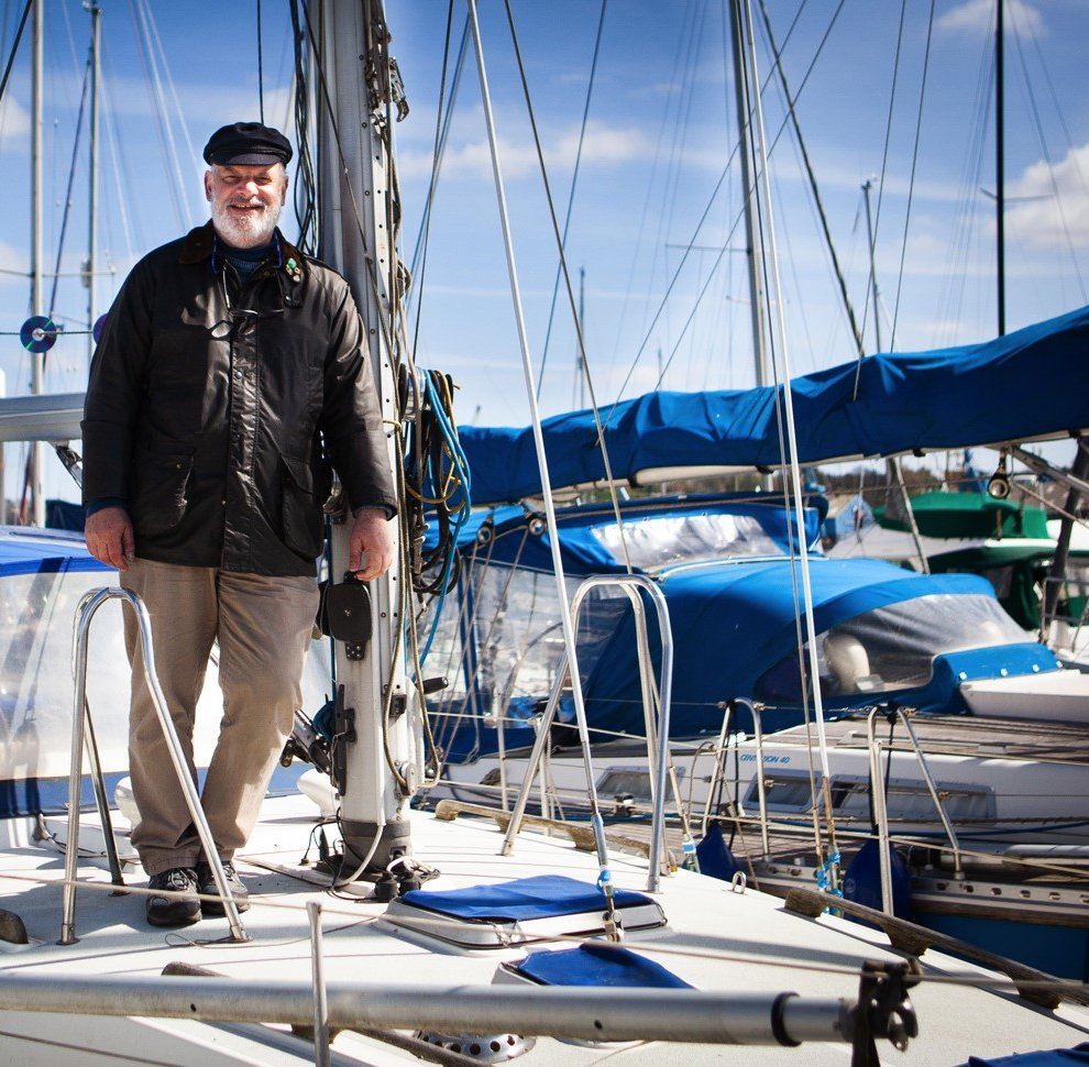 Olle Nash is sailing around the British Isles (East Coast Photography/PA)