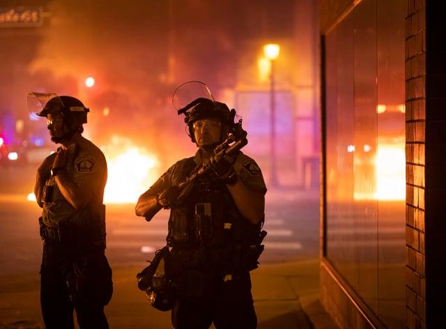 <p>Minneapolis tensions</p>