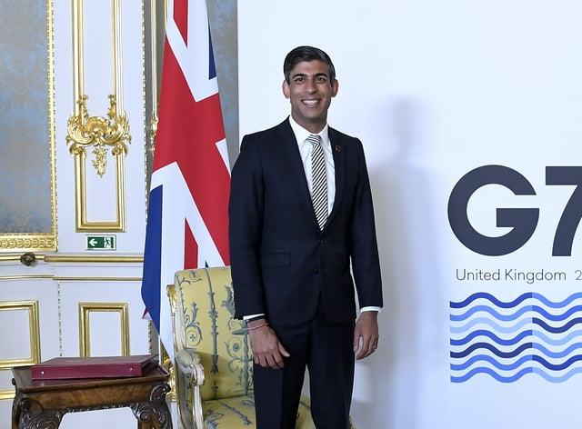 Chancellor Rishi Sunak branded the G7 tax decisions 'historic'