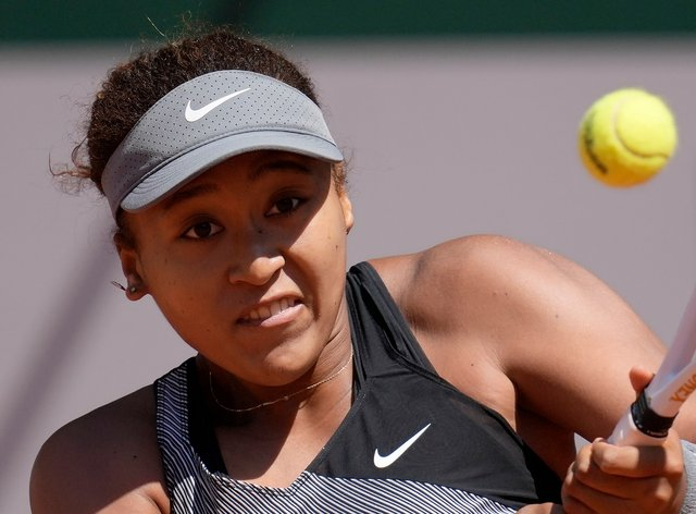Naomi Osaka played one match at Roland Garros before withdrawing