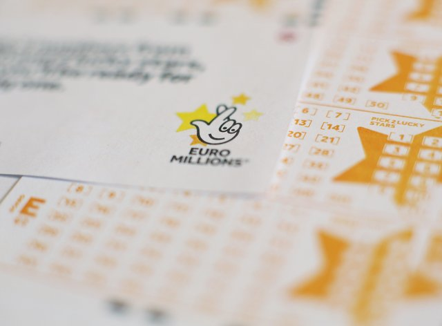 EuroMillions form