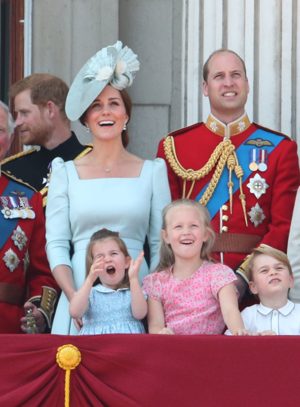 <p>Trooping the Colour</p>