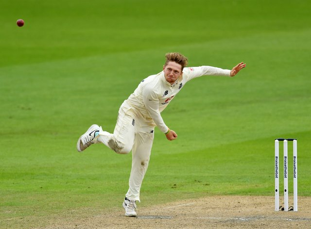 Dom Bess claimed four wickets for Yorkshire on the final day against Sussex