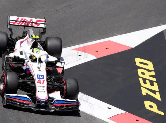 Mick Schumacher took aim at Haas team-mate Nikita Mazepin