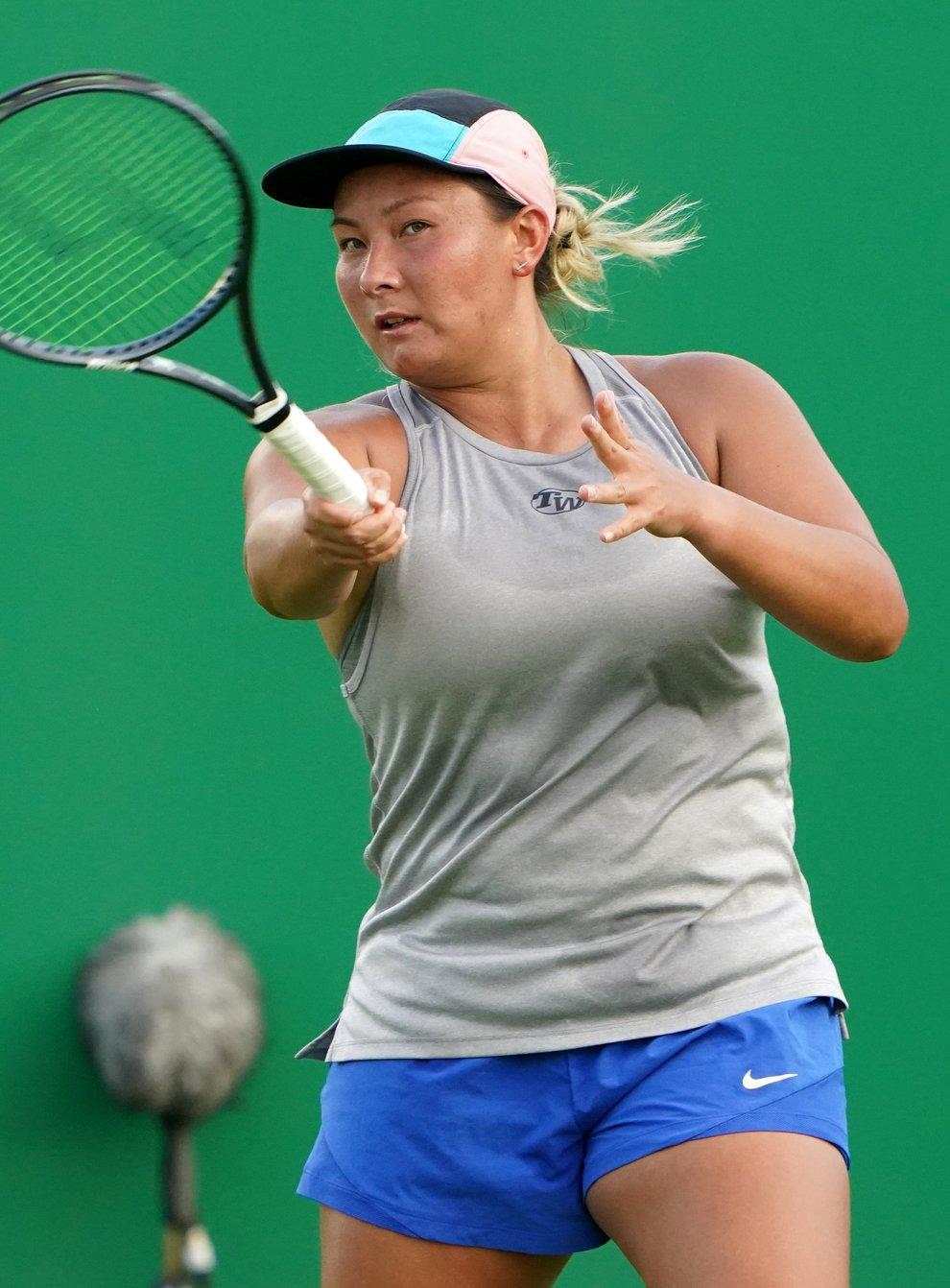 Tara Moore won her first WTA Tour level match since 2016