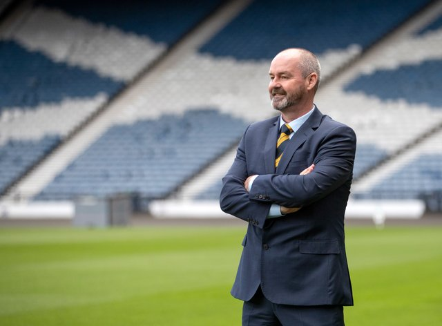 Scotland boss Steve Clarke is ready to lead his side out at Hampden next week