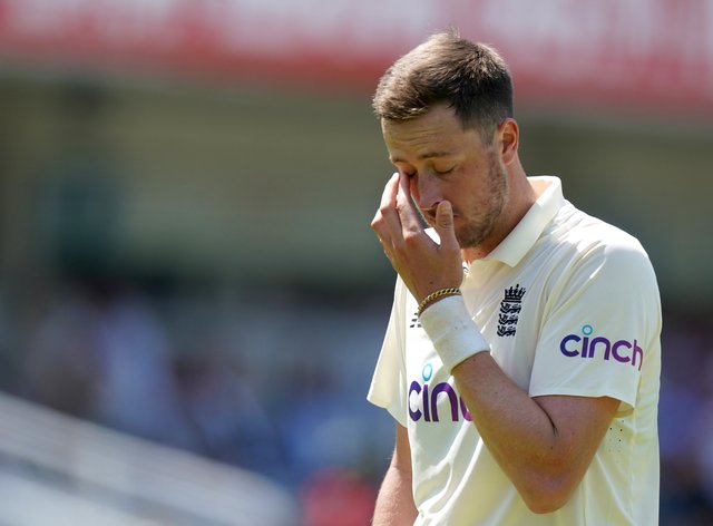 Ollie Robinson will not play for England in the second Test