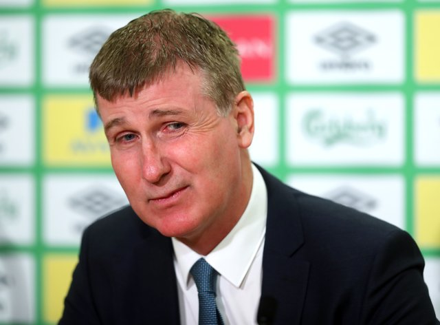 Republic of Ireland manager Stephen Kenny is looking to the future