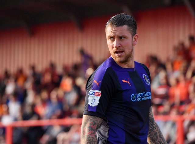 George Moncur in action