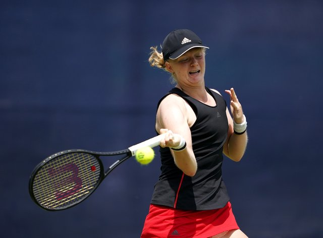 Francesca Jones' Nottingham Open ended in heartbreak with a first-round defeat