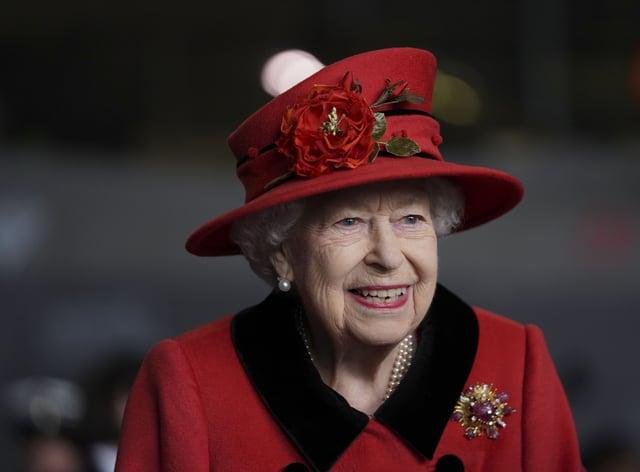 <p>HMS Queen Elizabeth</p>