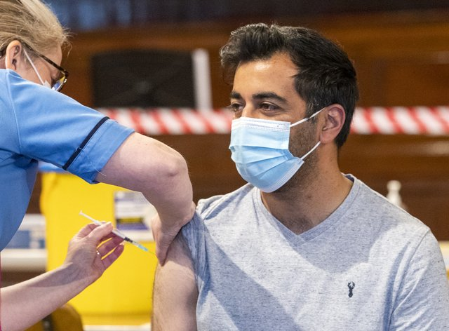 Humza Yousaf vaccine
