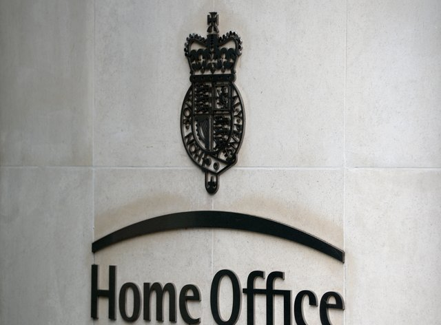 A view of signage for the Home Office (Kirsty O'Connor/PA)