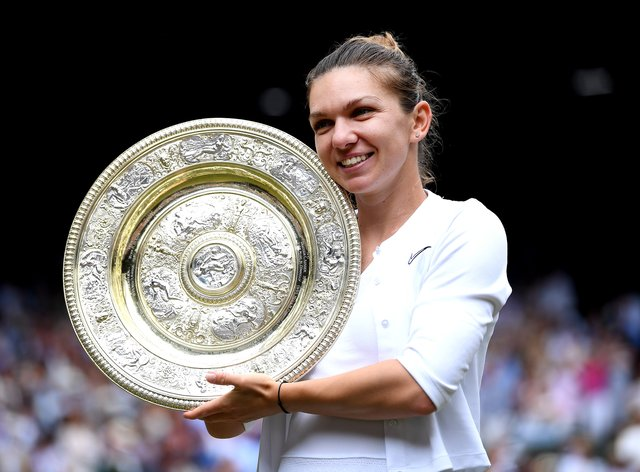 Simona Halep will hope to defend her Wimbledon title later this month