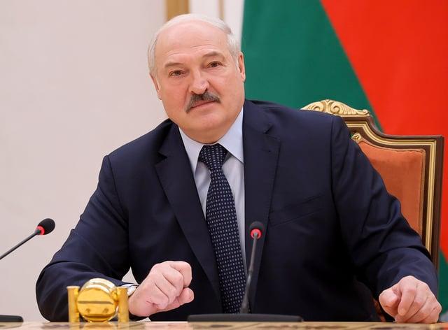 Belarus President Alexander Lukashenko (Sergei Sheleg/AP)