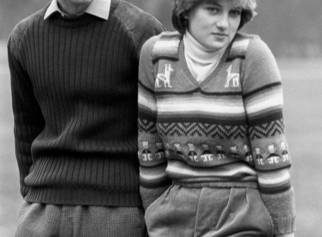 Charles and Diana before their wedding