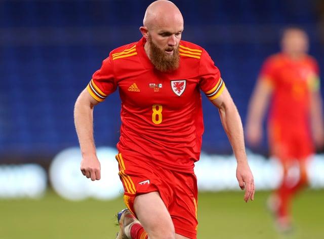 Wales midfielder Jonny Williams in action