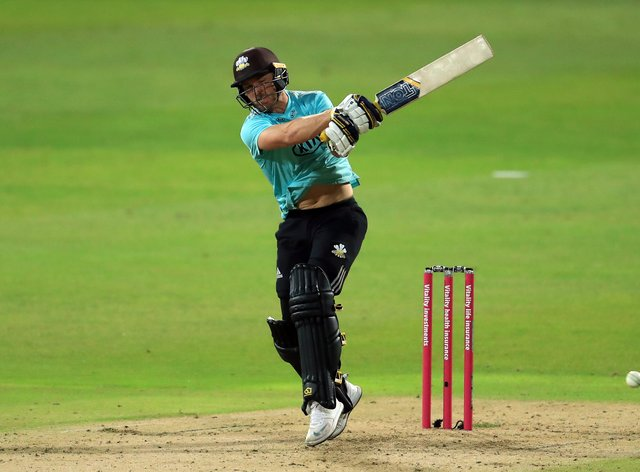 Laurie Evans will hope to help Surrey enjoy another successful Vitality Blast campaign