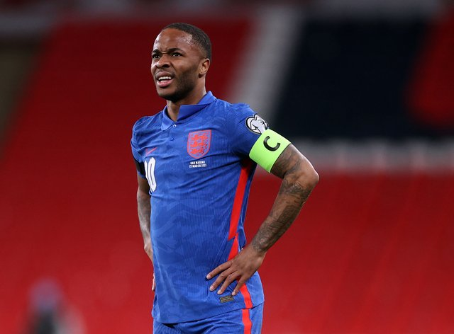 Raheem Sterling is excited about playing at Wembley during Euro 2020