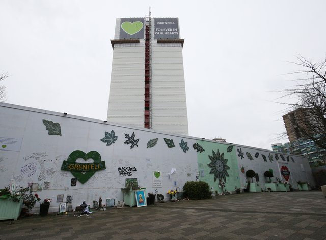 The Grenfell Memorial Wall