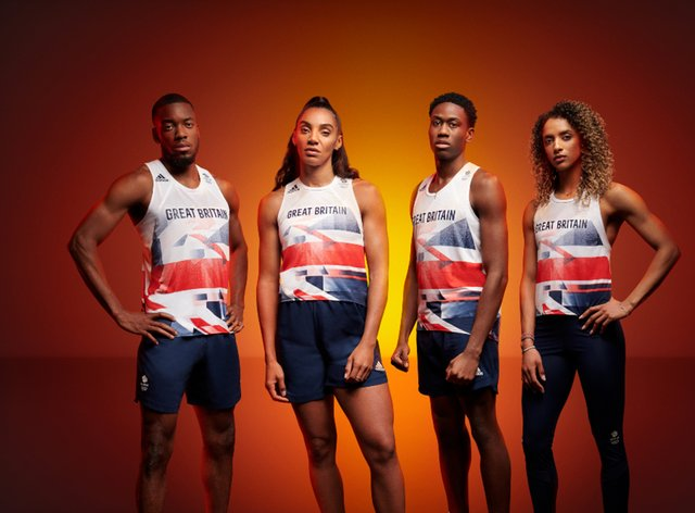 Team GB and adidas unveil kit ahead of Tokyo 2020
