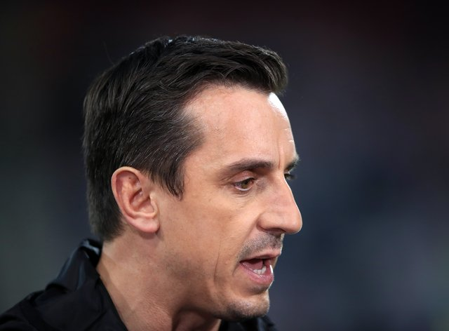 Gary Neville, pictured, has welcomed the news Debbie Hewitt is set to become the Football Association's first chairwoman