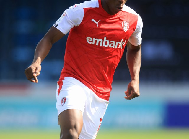 Rotherham's Chiedozie Ogbene became the first African-born player to represent the Republic of Ireland in Hungary on Thursday evening