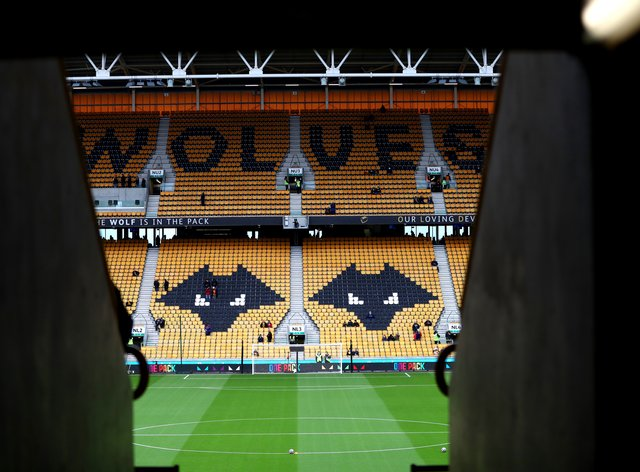 A general view of Molineux