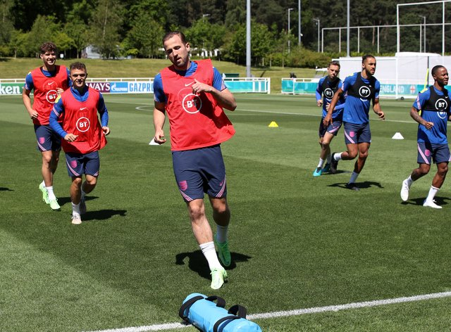 <p>England trained at St George's Park on Wednesday</p>
