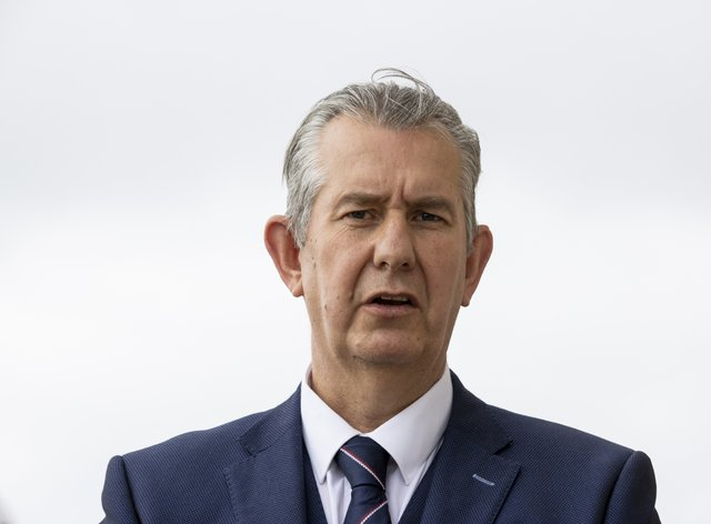 DUP leader Edwin Poots