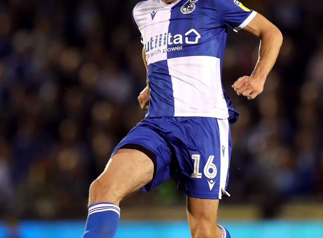 Tom Davies in action