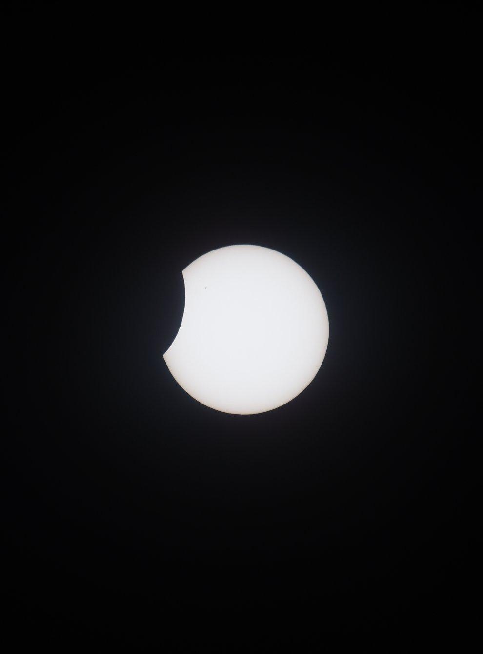 <p>Partial solar eclipse</p>