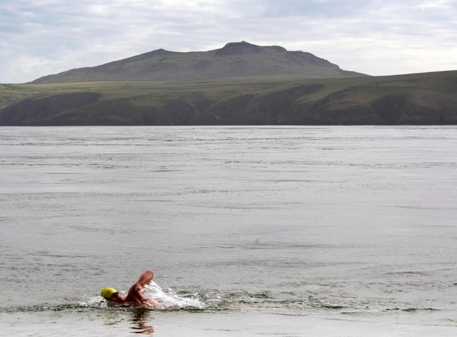 Relay swim