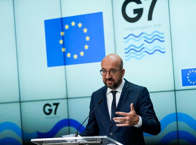 Belgium EU G7