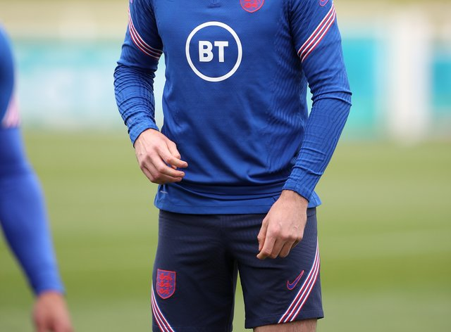 Harry Maguire returned to training with England on Thursday