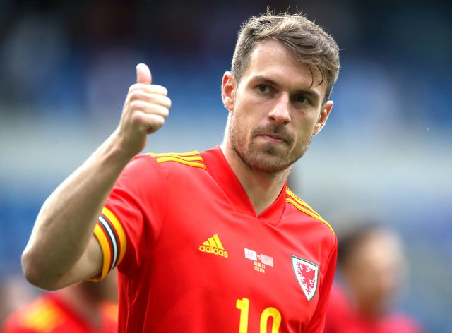 <p>Aaron Ramsey missed Wales training on Thursday but says he will be fit for the Euro 2020 opener against Switzerland</p>