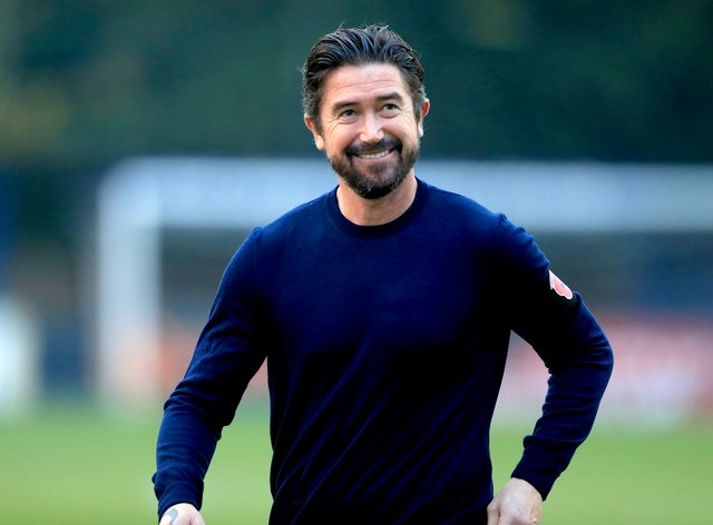 Harry Kewell is back in management at Barnet