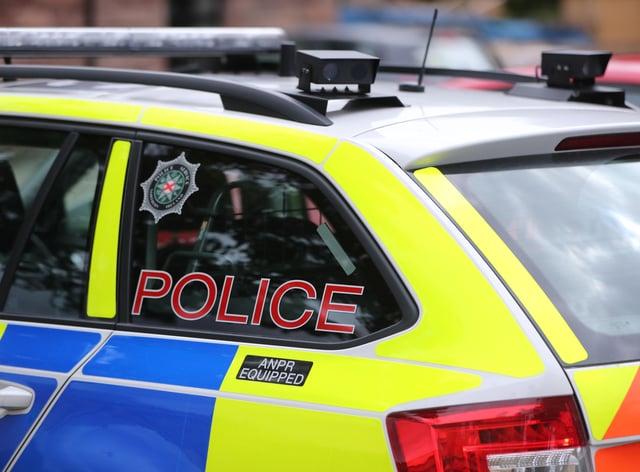 A Police Service of Northern Ireland patrol car